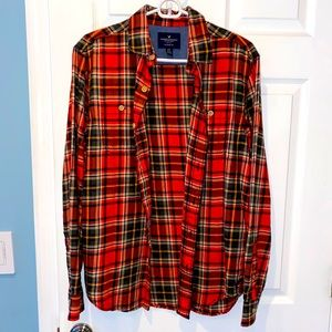American Eagle Men's Flannel